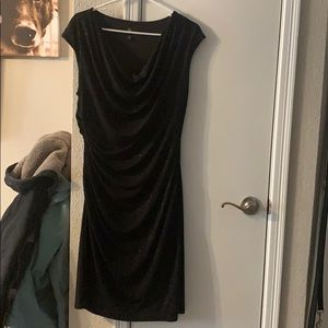 Black party dress, worn once